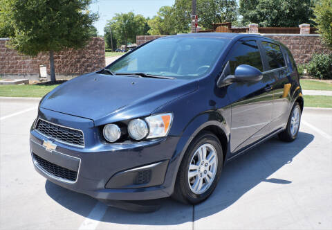 2015 Chevrolet Sonic for sale at International Auto Sales in Garland TX