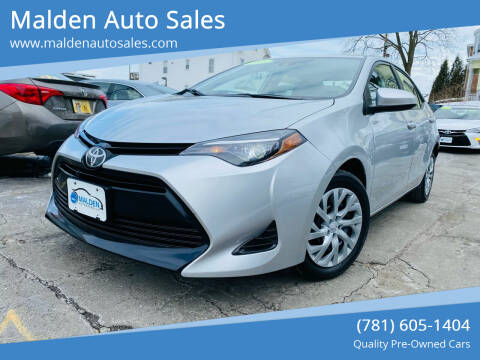 2018 Toyota Corolla for sale at Malden Auto Sales in Malden MA
