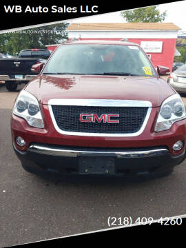 2010 GMC Acadia for sale at WB Auto Sales LLC in Barnum MN