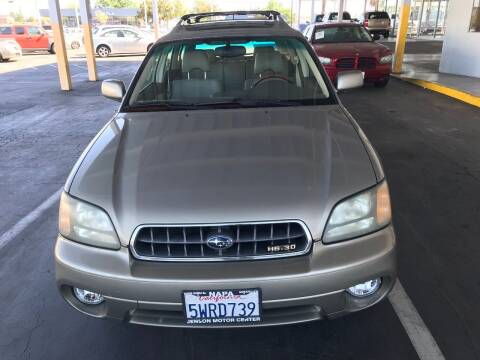 2003 Subaru Outback for sale at Auto Outlet Sac LLC in Sacramento CA