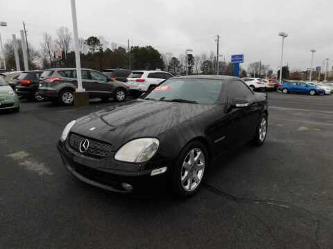 2001 Mercedes-Benz SLK for sale at Paniagua Auto Mall in Dalton GA