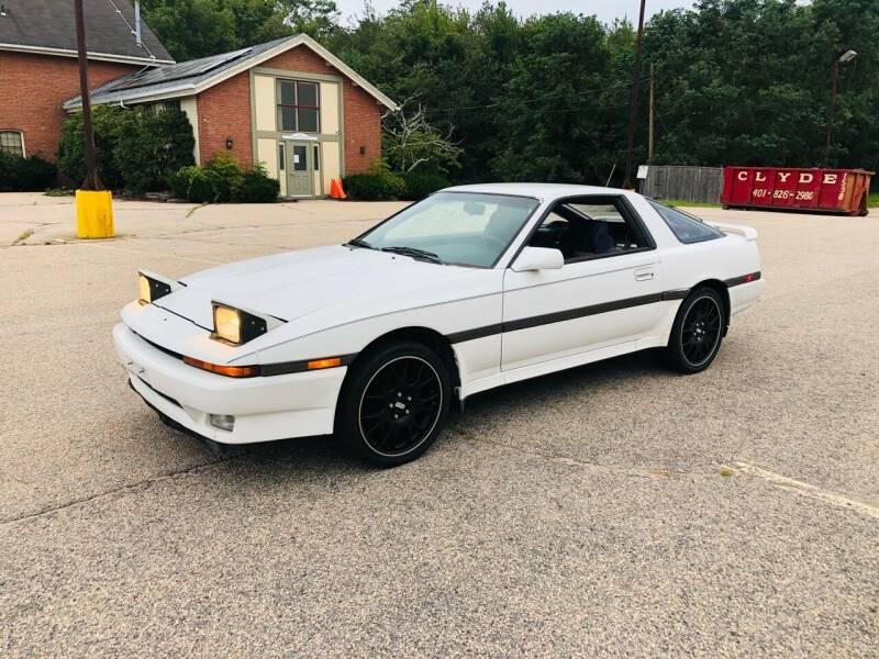 1987 Toyota Supra for sale at SODA MOTORS AUTO SALES LLC in Newport RI