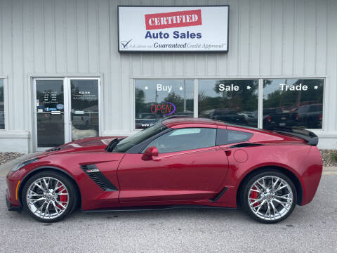 2015 Chevrolet Corvette for sale at Certified Auto Sales in Des Moines IA