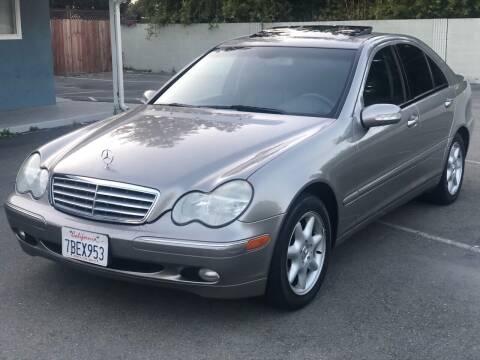 2004 Mercedes-Benz C-Class for sale at JENIN MOTORS in Hayward CA