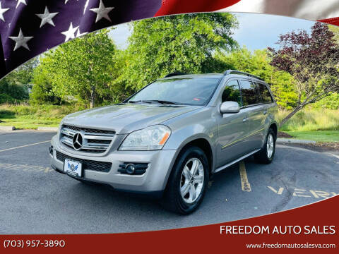 2008 Mercedes-Benz GL-Class for sale at Freedom Auto Sales in Chantilly VA