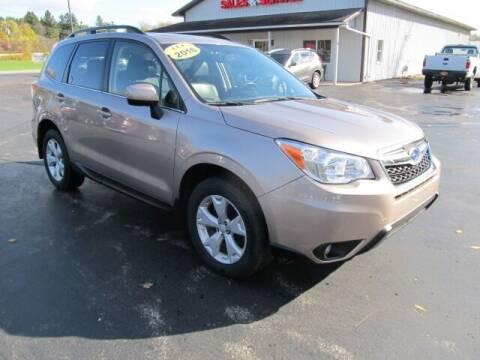 2016 Subaru Forester for sale at Thompson Motors LLC in Attica NY