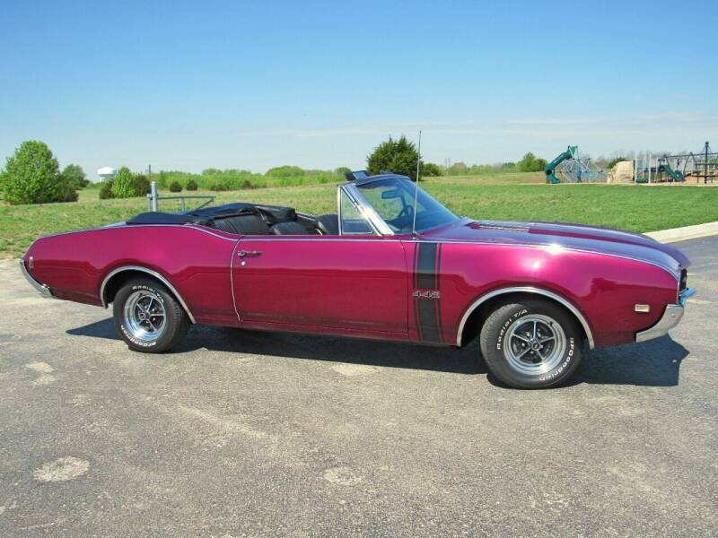 1968 Oldsmobile 442 for sale at KC Classic Cars in Kansas City MO
