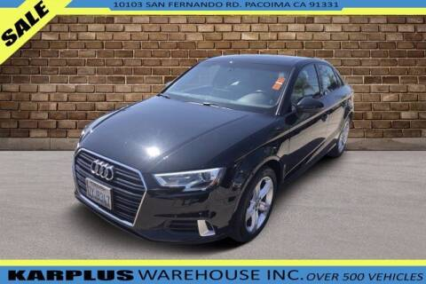 2017 Audi A3 for sale at Karplus Warehouse in Pacoima CA