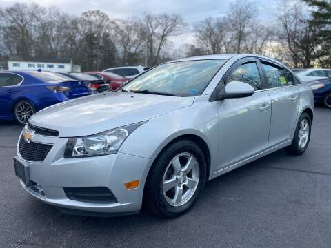 2014 Chevrolet Cruze for sale at SOUTH SHORE AUTO GALLERY, INC. in Abington MA