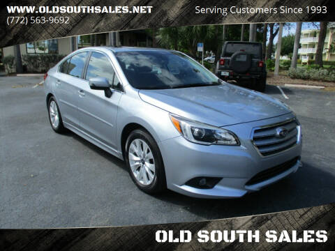 2017 Subaru Legacy for sale at OLD SOUTH SALES in Vero Beach FL