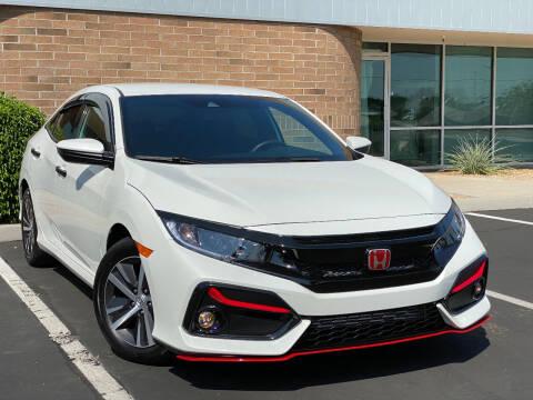 2021 Honda Civic for sale at AKOI Motors in Tempe AZ