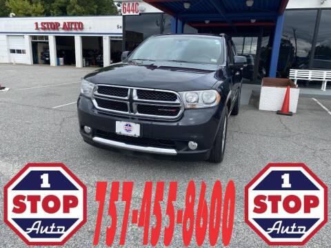2013 Dodge Durango for sale at 1 Stop Auto in Norfolk VA