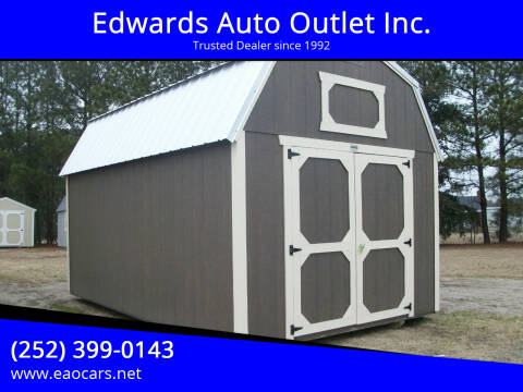 2021 Xx Old Hickory Buildings 10x16 Lofted Barn for sale at Edwards Auto Outlet Inc. in Wilson NC
