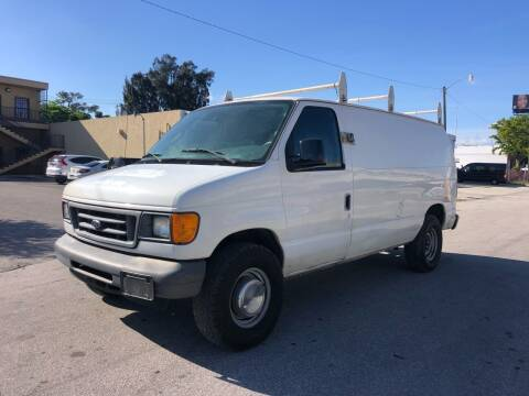 2006 Ford E-Series Cargo for sale at Florida Cool Cars in Fort Lauderdale FL