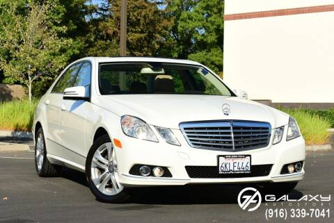 2010 Mercedes-Benz E-Class for sale at Galaxy Autosport in Sacramento CA