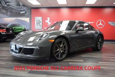 2015 Porsche 911 for sale at Icon Exotics in Houston TX