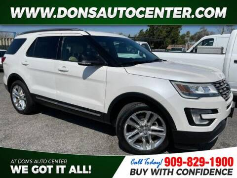 2016 Ford Explorer for sale at Dons Auto Center in Fontana CA