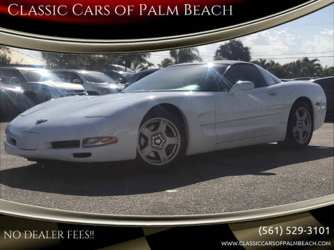 1998 Chevrolet Corvette for sale at Classic Cars of Palm Beach in Jupiter FL