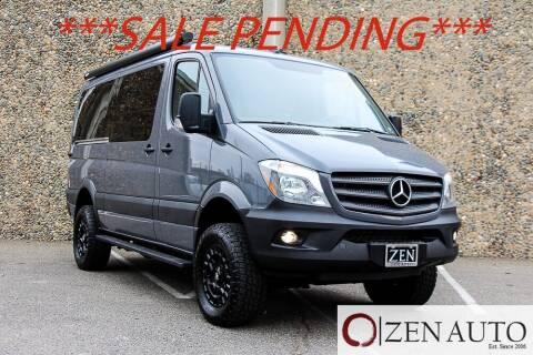 2018 Mercedes-Benz Sprinter Cargo for sale at Zen Auto Sales in Sacramento CA