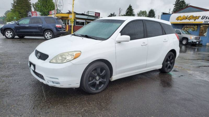 2004 Toyota Matrix for sale at Good Guys Used Cars Llc in East Olympia WA