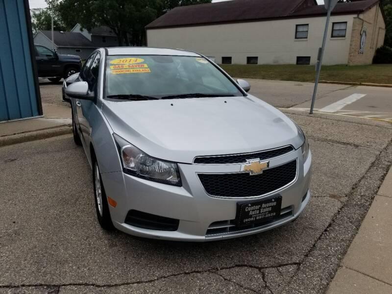 2014 Chevrolet Cruze for sale at CENTER AVENUE AUTO SALES in Brodhead WI