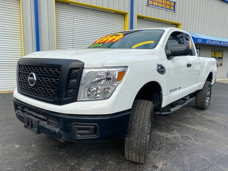 2017 Nissan Titan XD for sale at RoMicco Cars and Trucks in Tampa FL