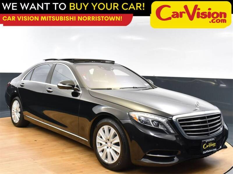 2015 Mercedes-Benz S-Class for sale at Car Vision Mitsubishi Norristown in Norristown PA