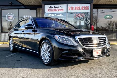 2015 Mercedes-Benz S-Class for sale at Michaels Auto Plaza in East Greenbush NY