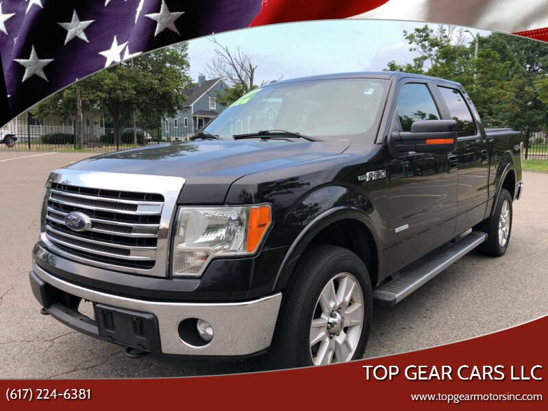 2013 Ford F-150 for sale at Top Gear Cars LLC in Lynn MA