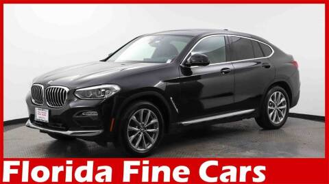 2019 BMW X4 for sale at Florida Fine Cars - West Palm Beach in West Palm Beach FL