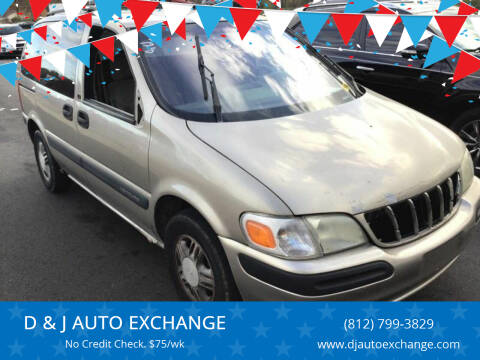 1999 Chevrolet Venture for sale at D & J AUTO EXCHANGE in Columbus IN