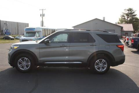 2020 Ford Explorer for sale at SCHMITZ MOTOR CO INC in Perham MN