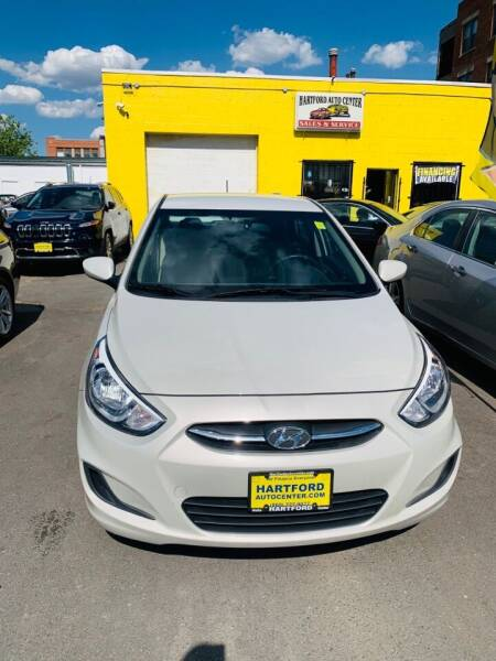 2017 Hyundai Accent for sale at Hartford Auto Center in Hartford CT