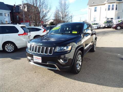 2014 Jeep Grand Cherokee for sale at FRIAS AUTO SALES LLC in Lawrence MA