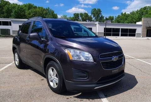 2015 Chevrolet Trax for sale at J & J Used Auto in Jackson MI