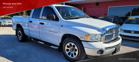 2004 Dodge Ram Pickup 1500 for sale at Orlando Auto Sale in Orlando FL