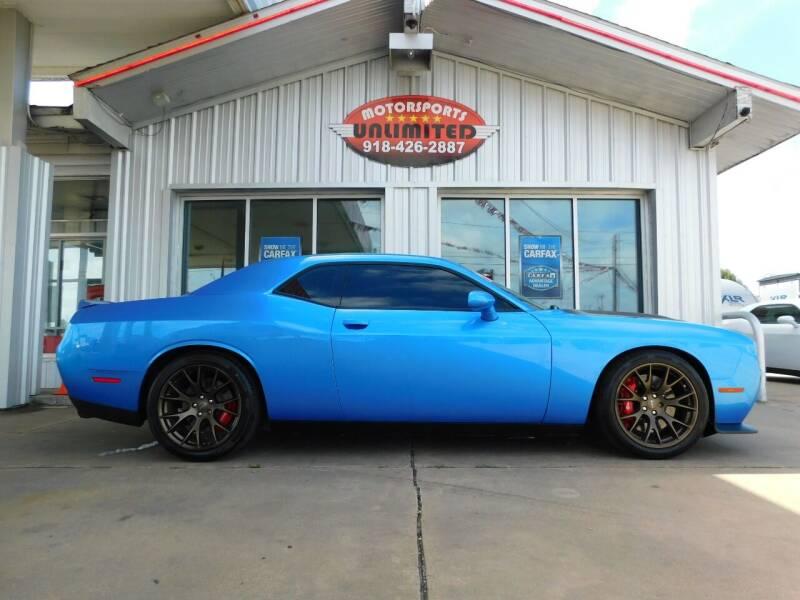 2016 Dodge Challenger for sale at Motorsports Unlimited in McAlester OK