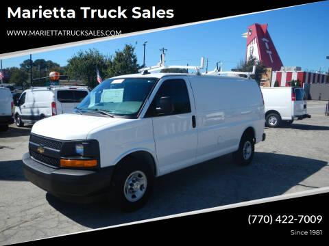 2017 Chevrolet Express Cargo for sale at Marietta Truck Sales in Marietta GA