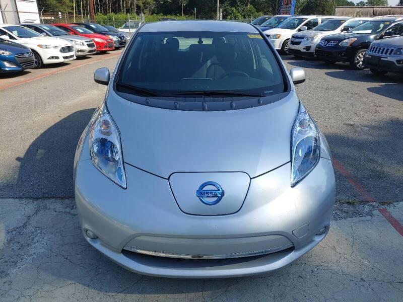 2013 Nissan LEAF for sale at Adonai Auto Broker in Marietta GA