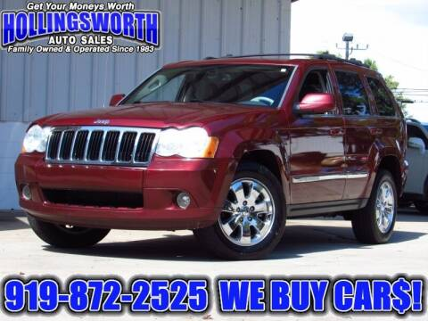 2008 Jeep Grand Cherokee for sale at Hollingsworth Auto Sales in Raleigh NC
