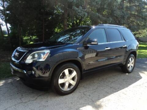2012 GMC Acadia for sale at HUSHER CAR COMPANY in Caledonia WI