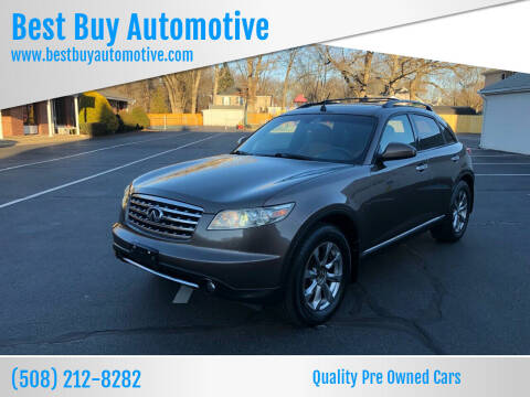 2007 Infiniti FX35 for sale at Best Buy Automotive in Attleboro MA