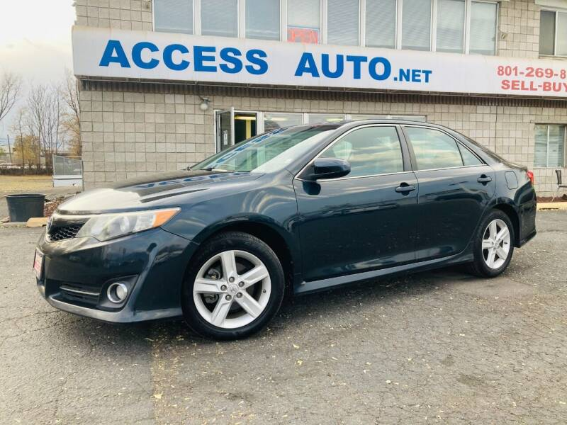 2014 Toyota Camry for sale at Access Auto in Salt Lake City UT