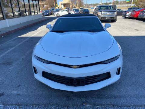2018 Chevrolet Camaro for sale at J Franklin Auto Sales in Macon GA