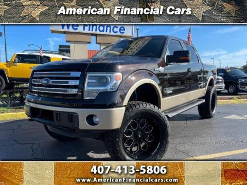 2013 Ford F-150 for sale at American Financial Cars in Orlando FL
