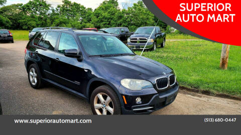2009 BMW X5 for sale at SUPERIOR AUTO MART in Amelia OH