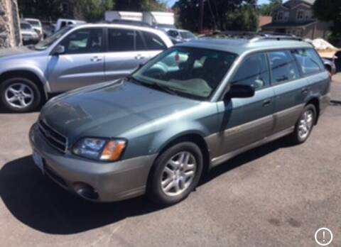 2002 Subaru Outback for sale at Chuck Wise Motors in Portland OR