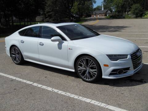 2016 Audi A7 for sale at GLOBAL AUTOMOTIVE in Grayslake IL