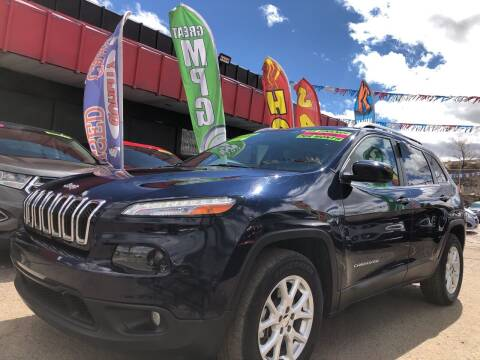 2016 Jeep Cherokee for sale at Duke City Auto LLC in Gallup NM