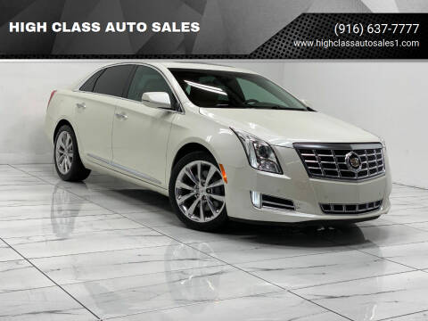 2013 Cadillac XTS for sale at HIGH CLASS AUTO SALES in Rancho Cordova CA